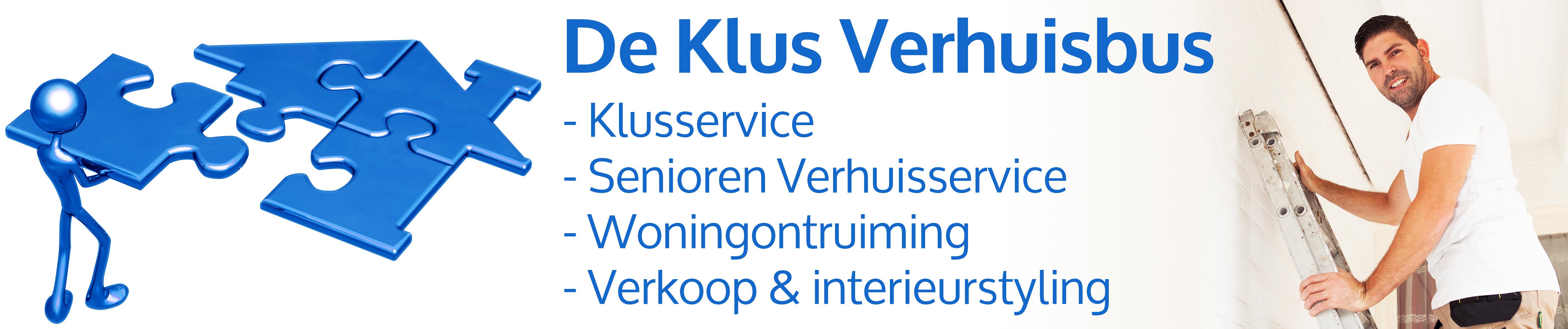 De Klus Verhuisbus Logo